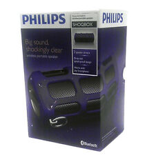 Philips Shoqbox SB7260 Purple Wireless Portable Speaker SB7260/37 Brand New