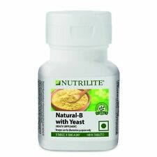 Amway Nutrilite Natural B with Yeast Contains 7 Essential B-Vitamins 100 Tablets