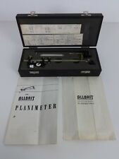 The Allbrit Planimeter Vintage Drawing Instrument Engineering W F Stanley London