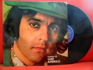 LUIZ AMERICO Camisa 10 LP RARE BRAZIL SAMBA MPB 74' MADE IN PORTUGAL ALVORADA