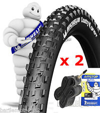 N°2 Copertone / Pneumatico 29 x 2.10 Bici MTB MICHELIN COUNTRY GRIP + N°2 Camera