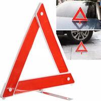 Car Emergency Breakdown Warning Triangle Reflective Safety Hazard Travel Kit Top