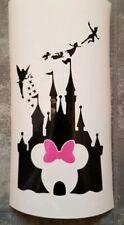 Disney minnie mouse castle Vinyl Decal Wine Bottle Sticker BOTTLE NOT INCLUDED