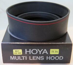 Hoya 72mm Multi Lens Hood - Brand New