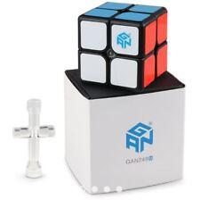 Gan 249 V2M Magnetic 2x2 Speed Rubik's Cube Black