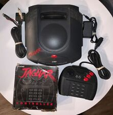 Atari Jaguar Console w/ 2 Official Controllers & S-Video Cable