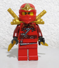 Kai ZX 9561 9441 9449 Red Ninja Armor Swords Ninjago LEGO Minifigure Figure