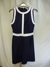 Ladies Dress Banana Republic navy & white trims UK 4, US 0, fitted, smart 2495