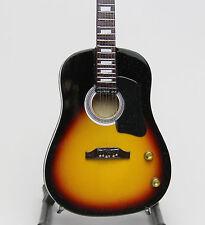 FAB FOUR - John  P 216  Miniature Guitar Replica
