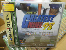 Greatest Nine 98 (1998, Sega) Brand New Factory Sealed Japan Sega Saturn Import