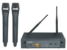 E-Systems UHF2 quality, affordable and reliable dual wireless microphone system