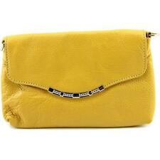 Portafogli e borsellini da donna in pelle gialla