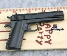 Gun Model M1911A1 Weapon Pistol Toy 1/6 Scale Black F 12''Figure Toys