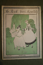 THE BOOK NEWS MONTHLY rare antique old magazine  august 1915 ernest poole