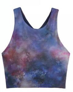 ATHLETA Conscious Crop Printed Size D-DD Sz X-LARGE Supernova YOGA Top
