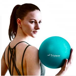 Trideer Soft Pilates Ball, Small Exercise Ball, 23/25cm Mini Gym Ball, Pilates,