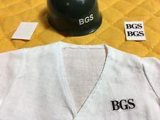 4x Sticker Action Team BGS Bundesgrenzschutz GI Joe Man Aufkleber wie ORIGINAL!