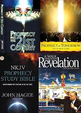 Hagee Prophecy for 21st Century Pak - 11 Dvds 3 Separate Series & Prophecy Bible