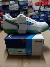 Mizuno Court Select Men's Sports Shoes White Peacock Blue NWT D1GA191425 US9.5