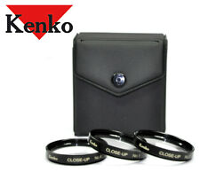 KENKO JAPAN 37mm Close-up Macro Lens Filter Set +1+2+4 37 Kit ( Hoya )