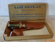 Case xx Knife And Axe Combo  in original box