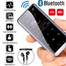 MP3 MP4 Player Bluetooth 4.2 HiFi Bass Musik Spieler 1,8'' LCD Display FM Radio