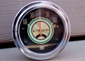1968 Shelby Mustang Stewart Warner Alternator Gauge 815855 Lamp Socket REAL!!!