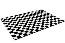 Diorama Damiers noir / Black checkerboard - 1/43ème - #43-1-F-001