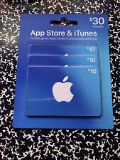 itunes gift card 30 dollars