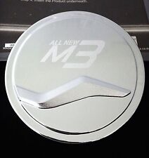 FOR NEW MAZDA 3 5 DOOR HATCHBACK 2014 CHROME FUEL OIL TANK CAP COVER TRIM V.1