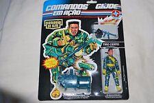 1992 Estrela GI Joe 3 3/4 1/18 Tiro Certo (Certain Shot) Comandos Em Acao Brazil