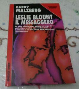 LESLIE BLOUNT IL MESSAGGERO DI BARRY MALZBERG ROMANZO COSMO EDITRICE NORD 1998