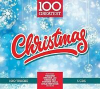 100 GREATEST CHRISTMAS, COLDPLAY, KATE WINSLET, THE BASEBALLS,MUD  5 CD NEW