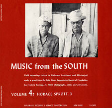 Horace Sprott - Music from the South Vol. 4: Horace Sprott 3 [New CD]