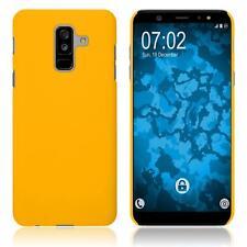 Funda Rígida Samsung Galaxy A6 Plus (2018) - goma amarillo Case