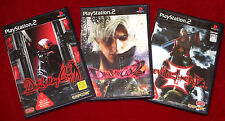 PS2 Games DEVIL MAY CRY 1 + 2 + 3 NTSC-J Japan Import PlayStation 2