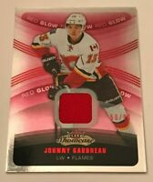 Johnny Gaudreau /99 made Red Glow Showcase Jersey Insert Parallel Hockey Card 34