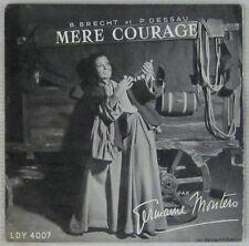 Bertold Brecht 45 tours Germaine Montero Mère Courage