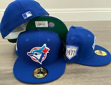New Era Cap 59FIFTY TORONTO BLUE JAYS Hat Fitted 5950 COOPERSTOWN INAUGURAL