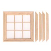 1:12 Dollhouse Miniature Furniture 9 Grid Window Model Furniture AccessoriesJCA