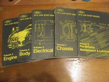 1973 Ford MUSTANG Lincoln Mercury ALL CARS Service Shop Repair Manual SET 5 VOL
