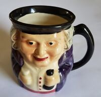 "Vintage Shorter & Son 4"" Hand-painted Toby Jug"