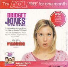 BRIDGET JONES The Edge Of Reason ( UK AOL CD ROM )