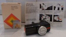 Polaroid SX-70 Film Camera #132 Self-Timer +Box & Instruction sheet 1973 TESTED