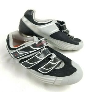 PEARL IZUMI IQ Vagabond Cycling Shoes -Black/Silver w/Cleat Shimano SM-SH51 US 9