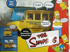 Simpsons Talking Elementary School Bus WOS Interactive Environment BRAND NEW