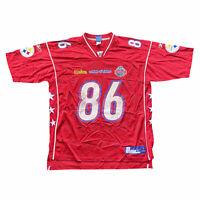Reebok NFL Pittsburg Steelers Hines Ward Mens Pro Bowl All Star Red Jersey XL