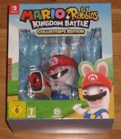 Mario + Rabbids Kingdom Battle Nintendo Switch Collectors Edition New UK PAL