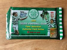 Sealed Packet of Futera 1998 Celtic Fans Selection Trading Cards (6 Cards)