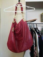 Genuine Leather BADGLEY MISCHKA Red/Fuschia Shoulder Bag FASHION NORDSTROM'S OM